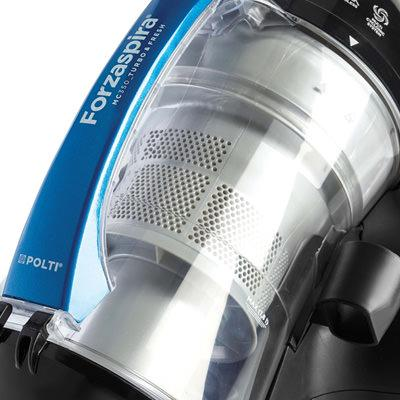 Forzaspira: vacuum cleaners for fine dust