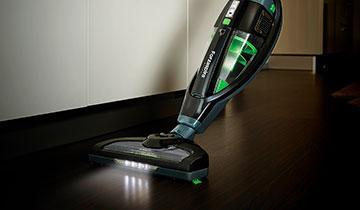 Scopa Elettrica Forzaspira SR25.9 Plus - Spazzola con luci LED