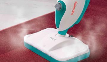 Scopa a Vapore Vaporetto SV205 - Ideale per tappeti e moquette