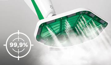 Scopa a vapore Vaporetto SV400 Hygiene - Igiene senza detersivi