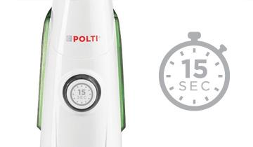 Scopa a vapore Vaporetto SV400 Hygiene - Pronta in 25 secondi