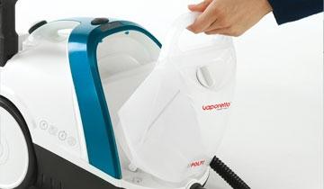 Vaporetto Smart 100_B limpeza ininterrupta