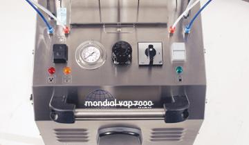 Mondial Vap 7000 Inox - manomentro controllo pressione